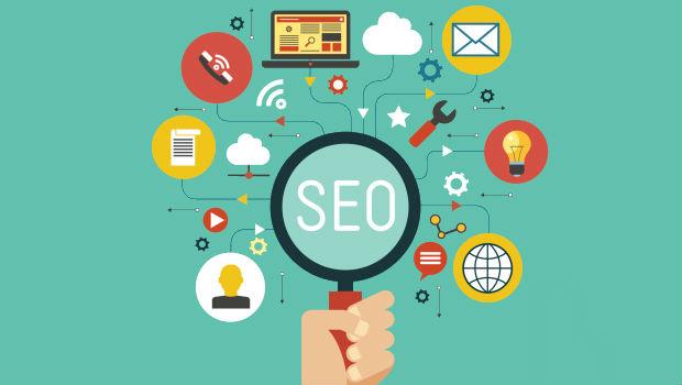SEO search graphic